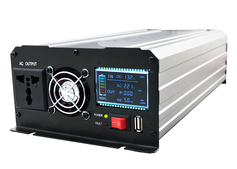 DC24V To AC220V 1200W Pure Sine Wave Inverter